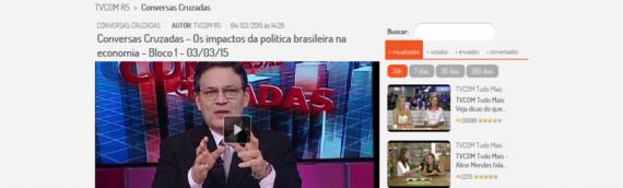 CONVERSAS CRUZADAS – PARTICIPAÇÃO MARCELO FERZOLA -04/03/15 – OS IMPACTOS DA POLITICA BRASILEIRA NA ECONOMIA – BLOCOS 1,2,3