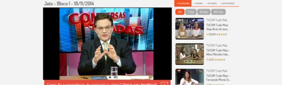 Conversas Cruzadas – Os desdobramentos da Operação Lava Jato – Bloco 1 – 18/11/2014 – Participação de Marcelo Ferzola